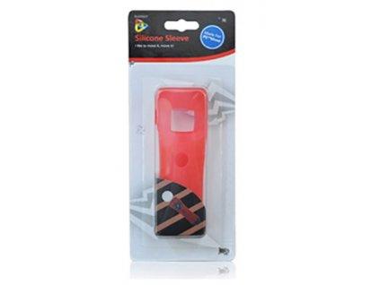PS3 PS4 Move silikonový obal červený