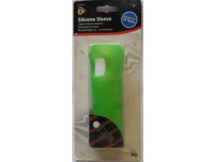 PS3 PS4 Move silikonový obal zelený