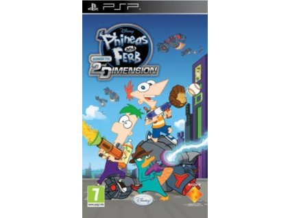 PSP Phineas and Ferb Across the Second Dimension