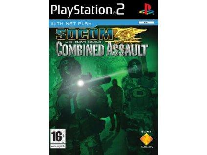 PS2 SOCOM U.S. Navy SEALs Combined Assault