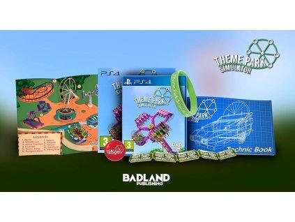 PS4 Theme Park Simulator Collectors Edition