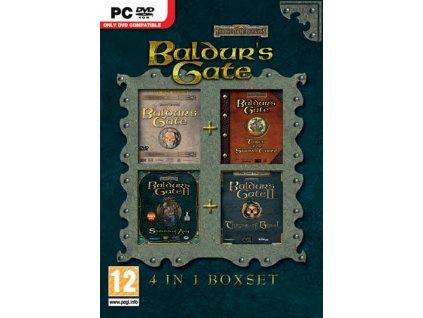 PC Baldurs Gate 4 IN 1 Boxset