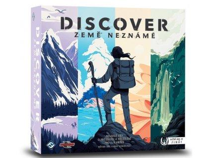Společenská hra Discover Země neznámé CZ Nové