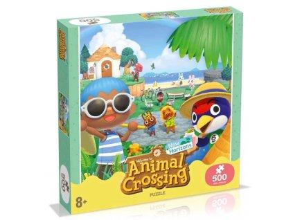 Merch Puzzle Animal Crossing 500 dílků