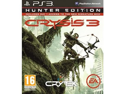PS3 Crysis 3 Limited Hunter Edition CZ