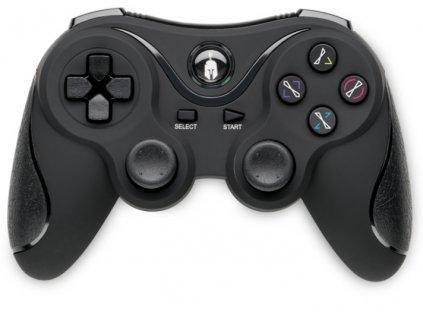 PS3 ovladač bezdrátový Spartan Black