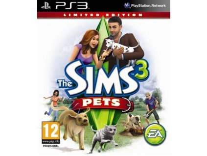 PS3 The Sims 3 Pets Limited Edtition