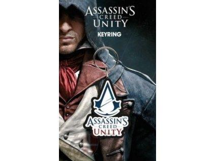 Merch klíčenka Assassins Creed Unity Logo