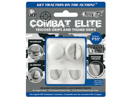 PS5 Trigger Treadz Combat Elite Trigger Grips and Thumb Grips