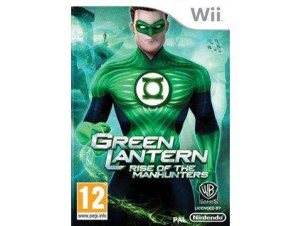 Wii Green Lantern Rise of the Manhunters