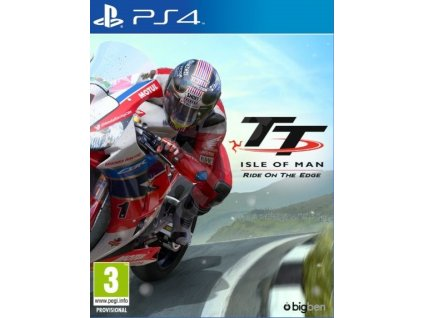 PS4 TT Isle of Man Ride On The Edge