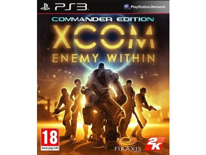 PS3 XCOM Enemy Within Commander Edition Nové
