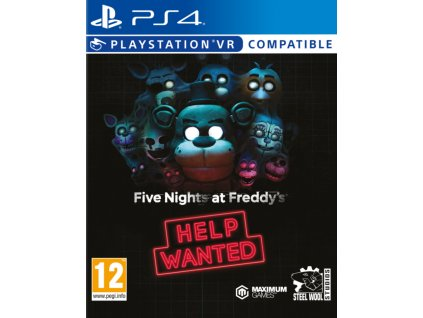 PS4 Five Nights At Freddys Help Wanted