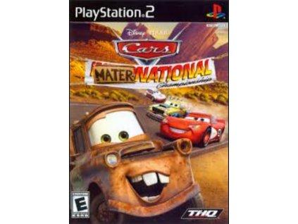PS2 Disney Cars Mater National Championship