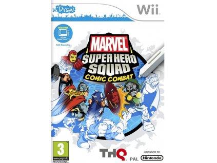 Wii uDraw Marvel Super Hero Squad Comic Combat
