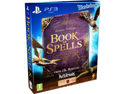 PS3 Book of Spells + Wonderbook CZ