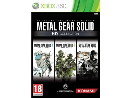 X360 Metal Gear Solid HD Collection