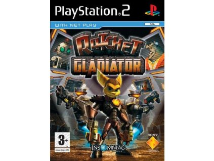 PS2 Ratchet Gladiator
