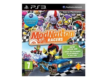 PS3 Modnation Racers