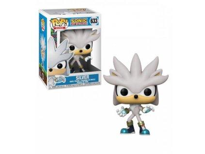 Merch Funko Pop! 633 Sonic 30th Silver