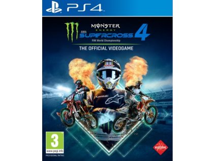 PS4 Monster Energy Supercross 4
