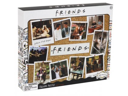 Merch Puzzle Friends koláž 1000 dílků