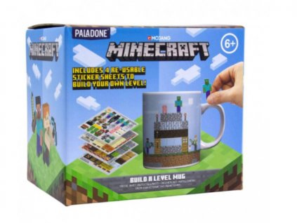 Merch Hrnek Minecraft Build A Level