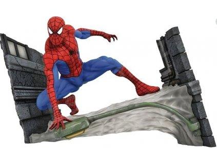 Merch Figurka Spider Man Webbing PVC Diorama
