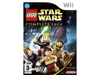 Wii Lego Star Wars The Complete Saga
