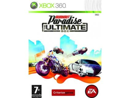 X360 Burnout Paradise The Ultimate Box