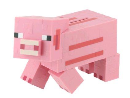 Merch Pokladnička Minecraft Pig