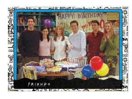 Merch Puzzle Friends Happy Birthday 1000 dílků