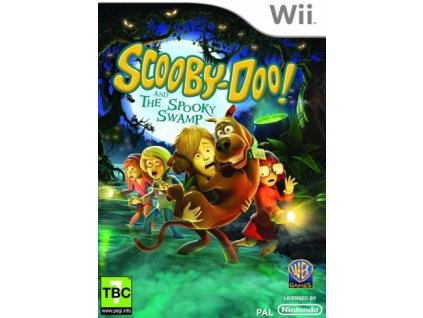 Wii Scooby Doo The Spooky Swamp