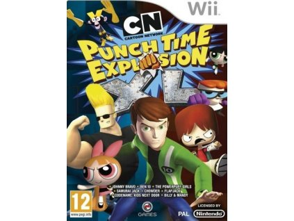 Wii Cartoon Network Punch Time Explosion XL
