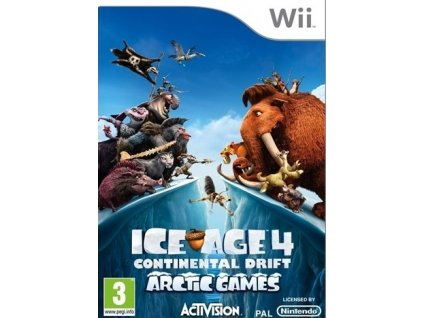 Wii Ice Age 4 Continental Drift