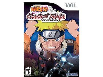 Wii Naruto Clash Of Ninja Revolution