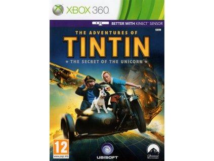 X360 The Adventures of Tintin The Secret of the Unicorn Nové