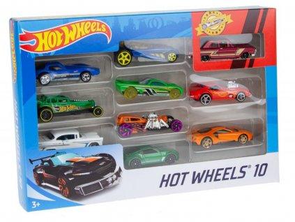 Hot Wheels 10 ks angličáky