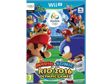 WiiU Mario and Sonic at the Rio 2016 Olympic Games