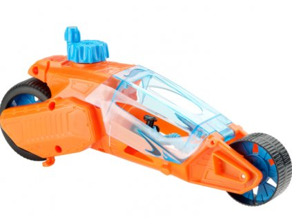 Toys Hot Wheels Speed Winders Twisted Cycle Orange