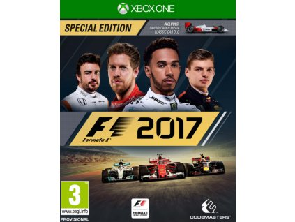 XONE F1 2017 Special Edition