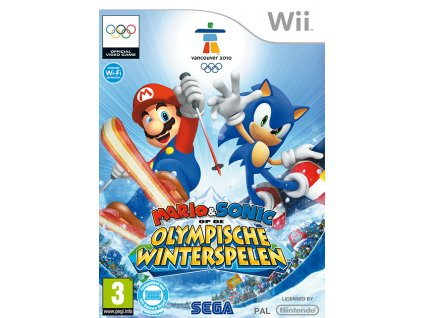 Wii Mario and Sonic at the Olympic Winter Games