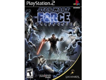 PS2 Star Wars The Force Unleshead