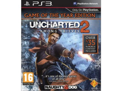 PS3 Uncharted 2 Among Thieves GOTY