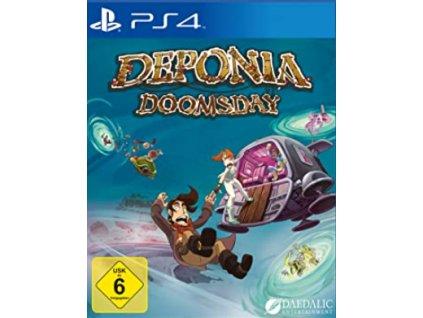 PS4 Deponia Doomsday Nové