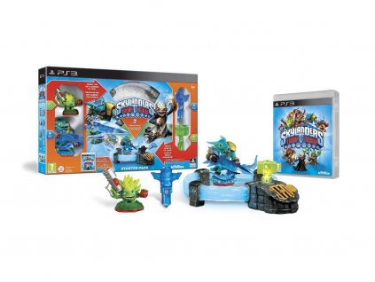 PS3 Skylanders Trap Team Starter Pack