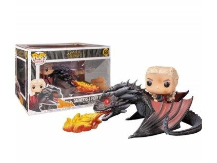 Merch Funko POP! 68 Game Of Thrones Daenerys and Fiery Drogon
