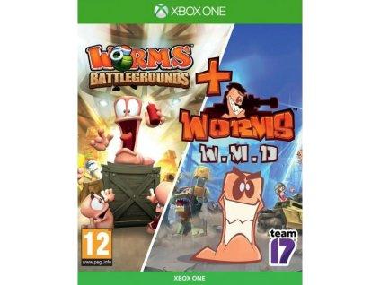XONE Worms Battlegrounds - Worms W.M.D.