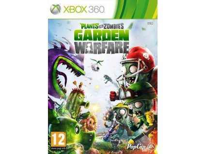 X360 Plants Vs Zombies Garden Warfare-