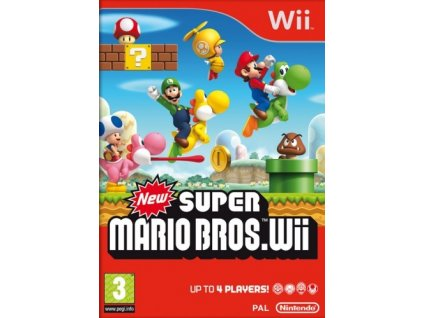 Wii New Super Mario Bros.
